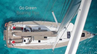 Go Green: Boating Tips
