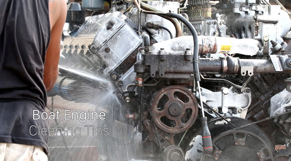 Boat Engine Cleaning Tips
