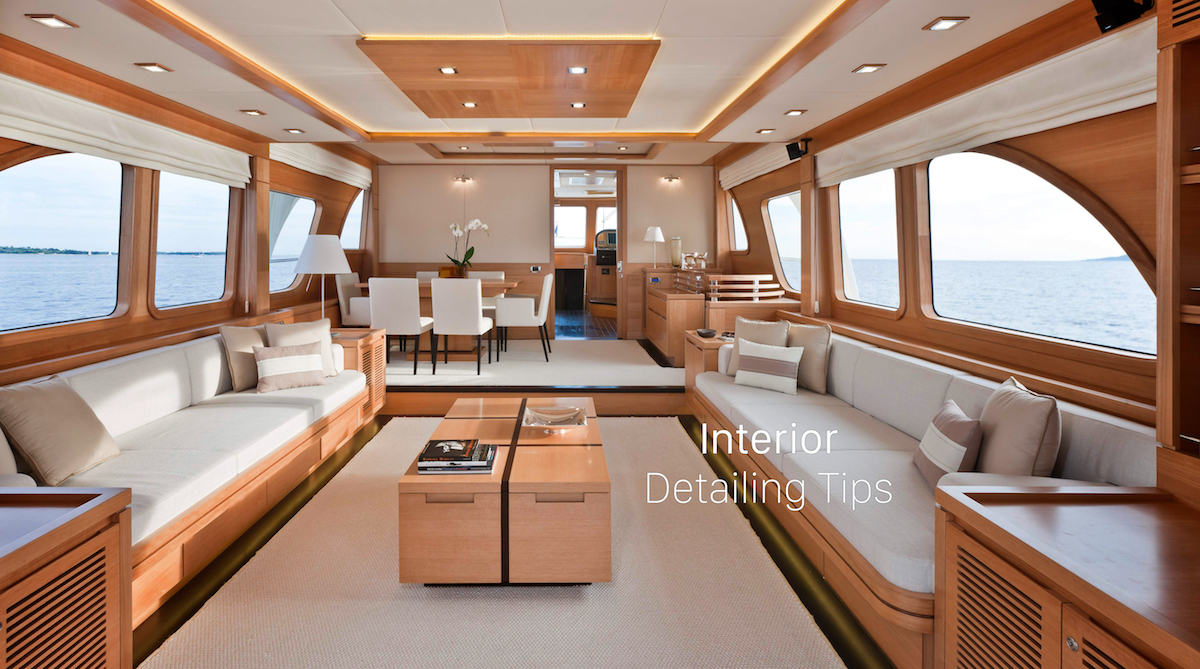 Interior Boat Detailing Tips