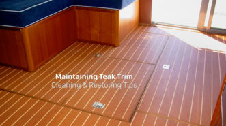 Maintaining Teak Trim