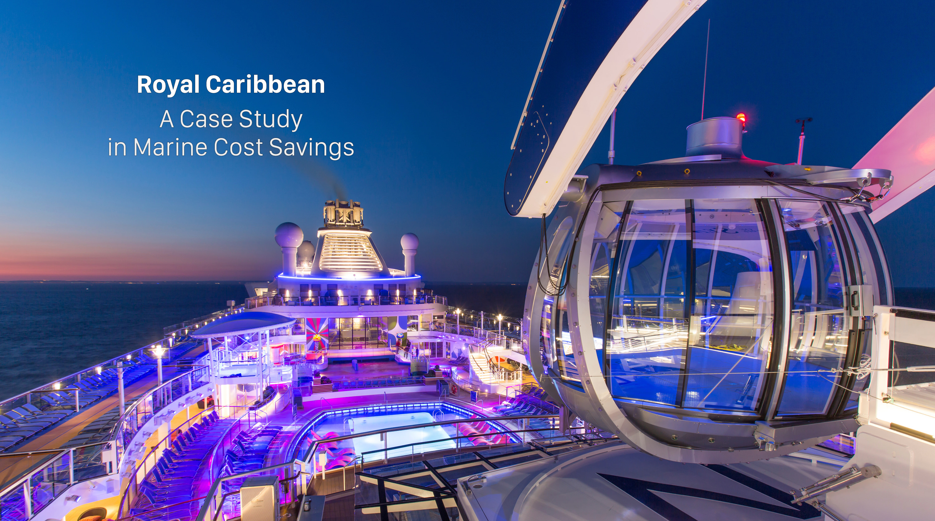 Royal Caribbean Introduces Its Newest And Most Technologically Advanced  Cruise Ship Anthem Of The Seas.  Pool Deck At Sunset