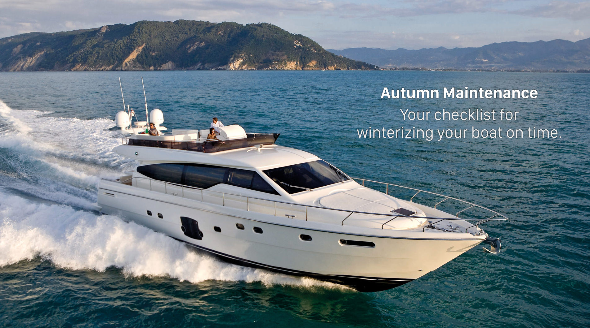 Winterizing Your Boat On Time